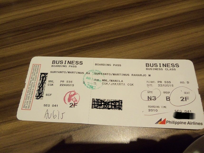 Review Of Philippine Airlines Flight From Manila To