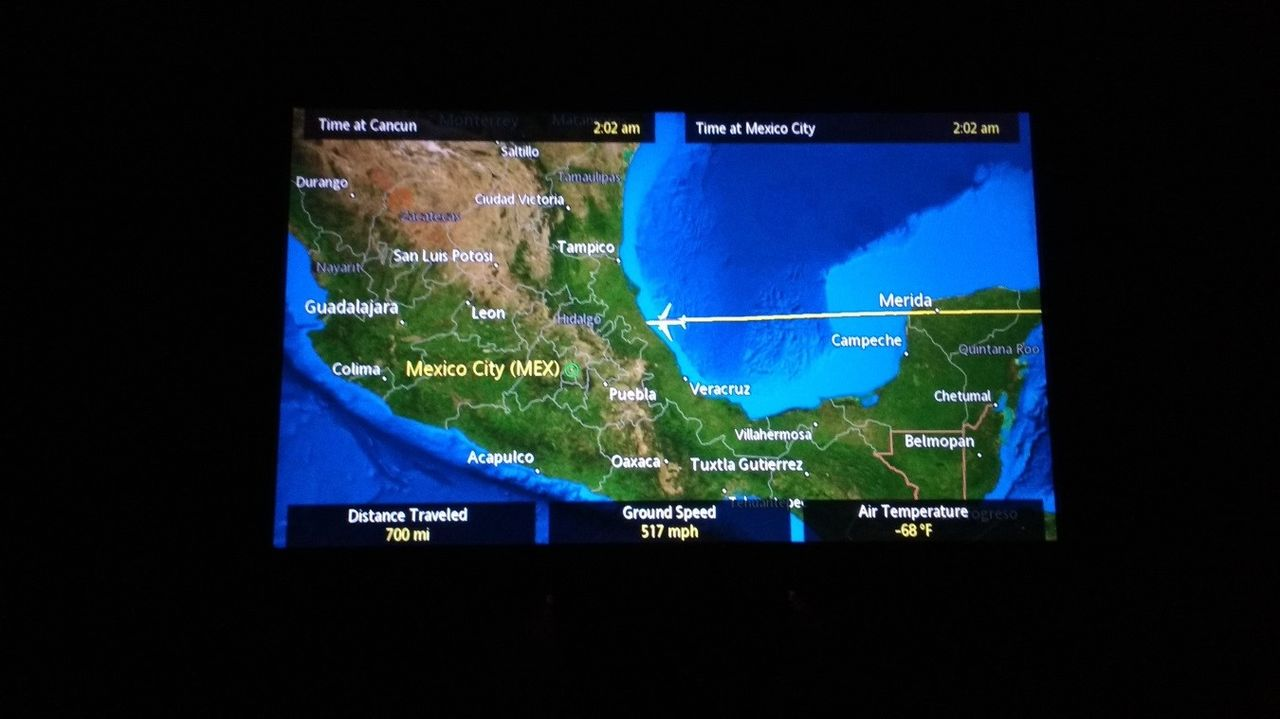 Review Of Aeromexico Flight From Canc N To Mexico City In Premium Eco # Muebles Dipay Cancun