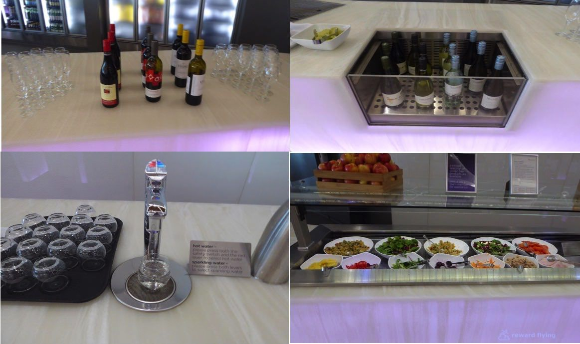 photo va694 lounge food composite