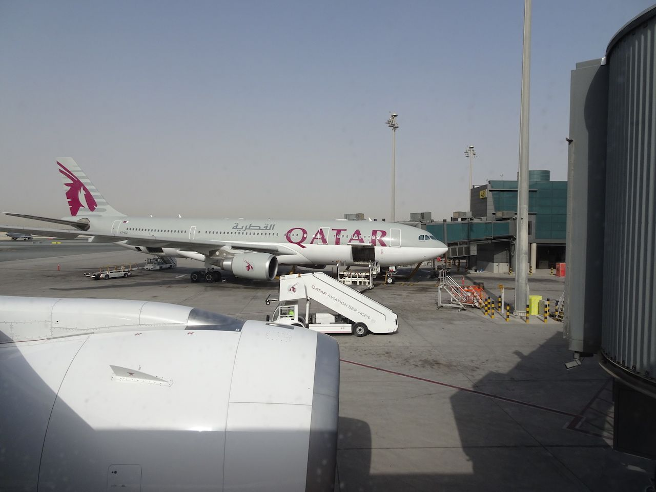Avis du vol qatar airways doha madrid en economique for Oficina qatar airways madrid